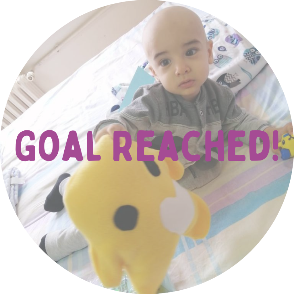 Childhood Cancer Fundraising Goal Reached